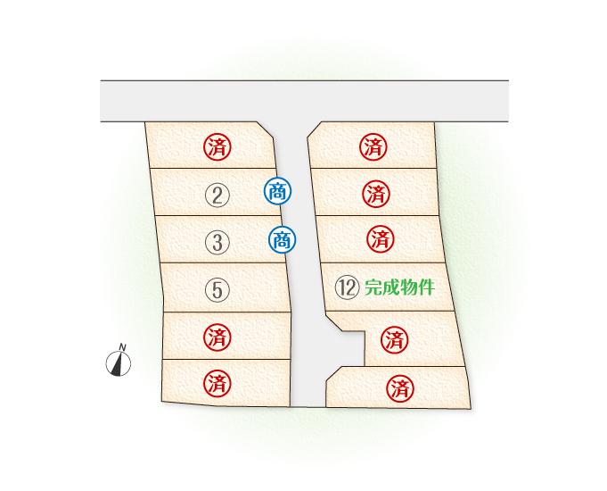 レジデンス江端13 区画図